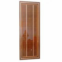 Frp Brown Fiber Bathroom Door