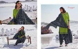 Suryajyoti Sui Dhaga Vol 9 Cotton Casual Wear Ladies Readymade Salwar Suits Catalogs Exporter