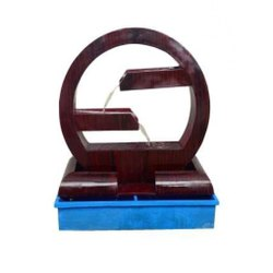FRP Fiber Reinforced Plastic Zig Zag Fiberglass Water Fountain