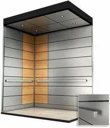Mild Steel Powder Coated Elevator Lift Cabin
