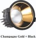 Led Cob All Black with Color Reflector Option