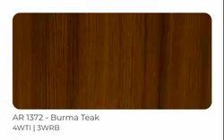 Brown AR 1372 Burma Tak Wooden Solid Composite Panel