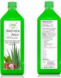 Aloe Vera Litchi Juice