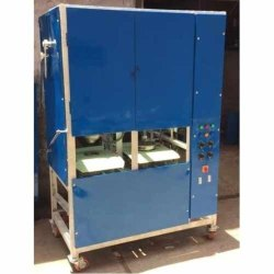 Ms Double Die Paper Plate Making Machine, Automation Grade: Automatic, 220 V