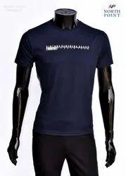 Round Half Sleeve Designer T Shirt
