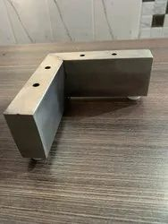 Stainless Steel Silver Ss L Sofa Leg