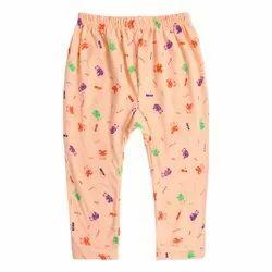 Richman Light Orange Kids Stylish Cotton Pajama