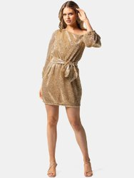 Lycra Cotton Ladies Fancy Midi Party Dress, Size: Medium