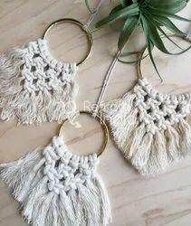 Divine Christmas Macrame Ornament