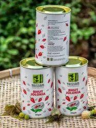 Red Assam Bhut Jolokia, Packaging: CAN