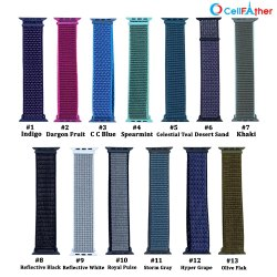 Silicon Apple Watch Nylon Strap, Packet, Size/Dimension: 22 Mm