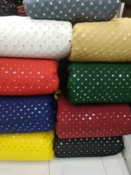 Georgette Mirror Work Fabrics