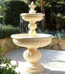 Golden Decoration Stone Water Fountain