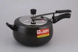 Quba 5 Litre Hard Anodized Induction Base Pressure Cooker With SS Lid