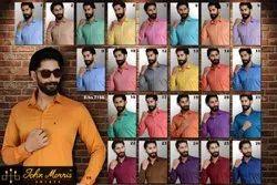 Multicolor Formal Plain100% Cotton Shirts (Core)
