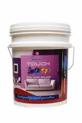 High Gloss Smart Premium Interior Emulsion Touch Paint, Packaging Size: 10Ltr