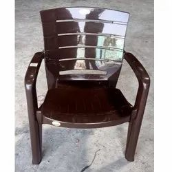 Dolphin gold Brown Plastic Chair