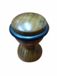 Gumsani Handicrafts Polished Wooden Door Stopper, Size: 2 Inch