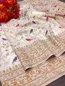 Soft cotton Handloom Weaving Silk Saree With Rich Contrast Zari