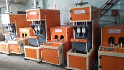 SEMI AUTOMATIC PET JAR BLOWING MC 50 ML TO 6 LTR