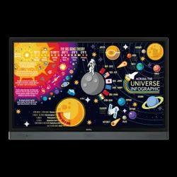 BenQ RP 6501K Interactive Panel, Size/Dimension: 1521.1 X 967.1 X 136.1 Mm