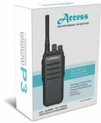 Access P 3 Walkie Talkie