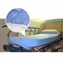 Hospital Blue Plain Bed Sheets