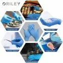 Oriley OR-SGN-L Disposable Nitrile Surgical Gloves (Pack of 100 by Weight)