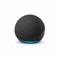 Black Alexa Echo Dot 4th Gen