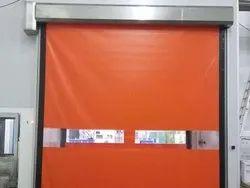 self repairable high speed door