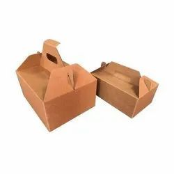 Corrugated Handle Box