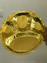 Golden Paper Plate Raw Material, Packaging Type: Roll, 35