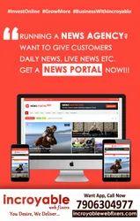 PHP/JavaScript Dynamic Online News Portal Website Development
