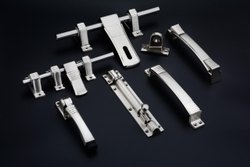 Stainless Steel Doors Mix Material Aldrop Door Kit