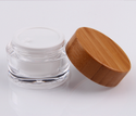 Bamboo Cosmetic Jar