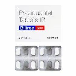 Praziquantel 600 Mg Tablet Biltree 600