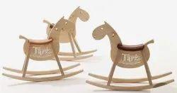 Wooden Rocking Horse- 01