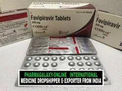 Codifab Favipiravir 200 mg Tablets