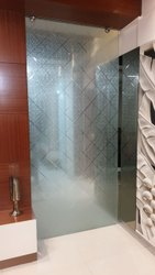 Designer Door Glass, Thickness: 12 Mm