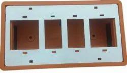 10A Rectangular Electric Switch Board