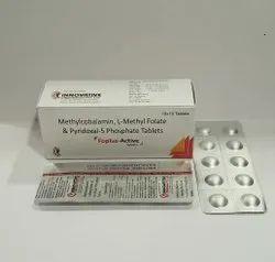 Methylcobalamin L Methylfolate & Pyridoxal-5 Phosphate Tab For Franchise