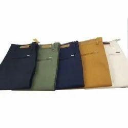 Plain Mens Cotton Formal Pant, Machine wash