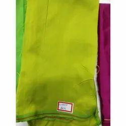 35 Inch Plain 150 GSM Cotton Silk Fabric