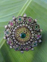 Antique Oxidised Ladies Ring