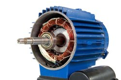 3 HP Three Phase Electric Motor