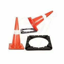 Rubber Base Safety / Industrial Cone