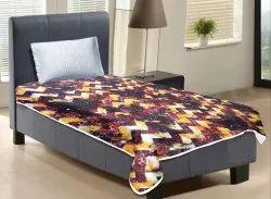 Single Bed Micro Printed Dohar Blanket
