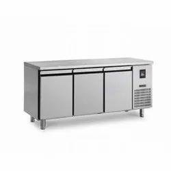 Three Door Commercial SS Kitchen Freezer