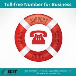 Toll Free Number Service Provider, Communication Language: English