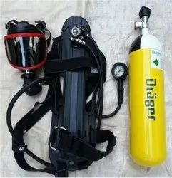 Type 1 Mild Steel Drager Self Contained Breathing Apparatus, Volume Of Cylinder: 5 Liter